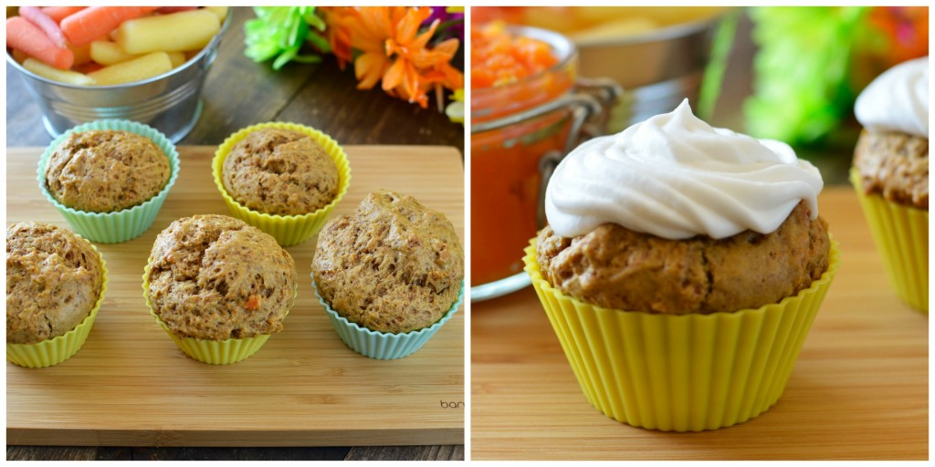 Carrot Muffin Recipe. Instead of shredded carrots in these carrot muffins, we used our carrots in a completely different way- Check it out!