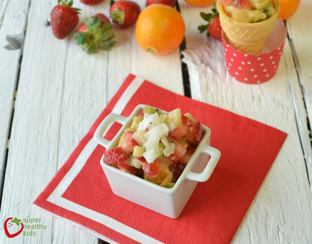 Fruit Salad with Citrus Dressing Recipe. A salad dressing that is just as healthy as the salad itself!