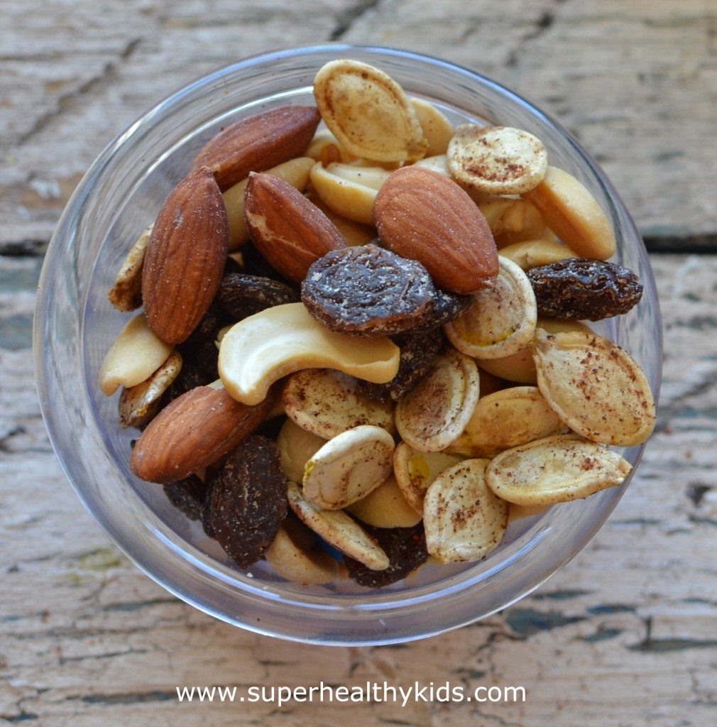 Trail Mix with Pumpkin Seeds