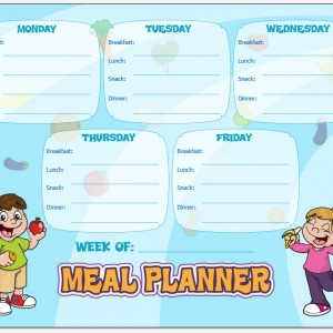 Meal Planning Weekend Update