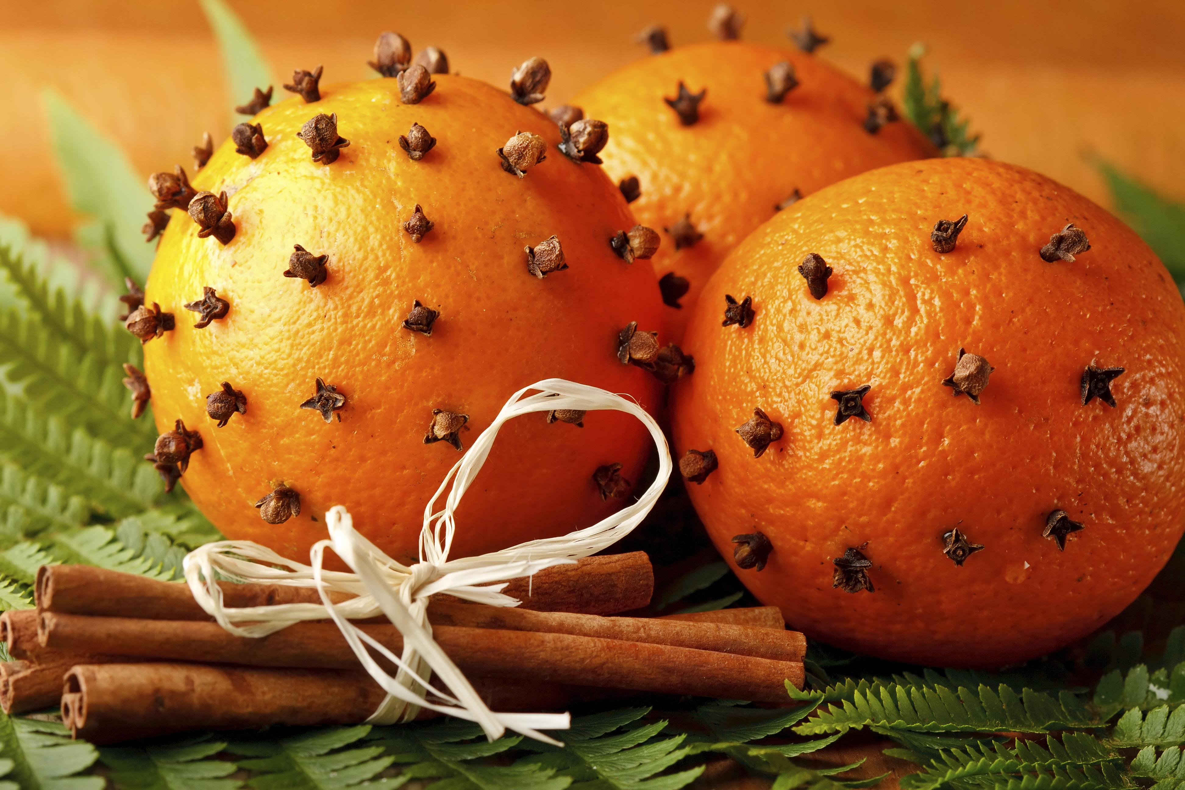 Ароматизатор своими руками апельсин с гвоздикой