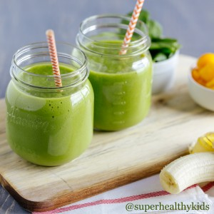 Smoothie Recipes: Green Smoothie Kids