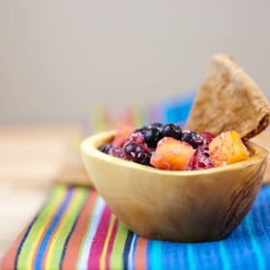 Fruit Salsa Snack