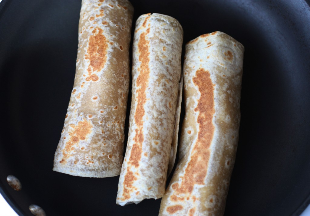 Warm Banana Roll-ups. Warm and crispy! These Banana Roll Ups have been super popular with our readers!