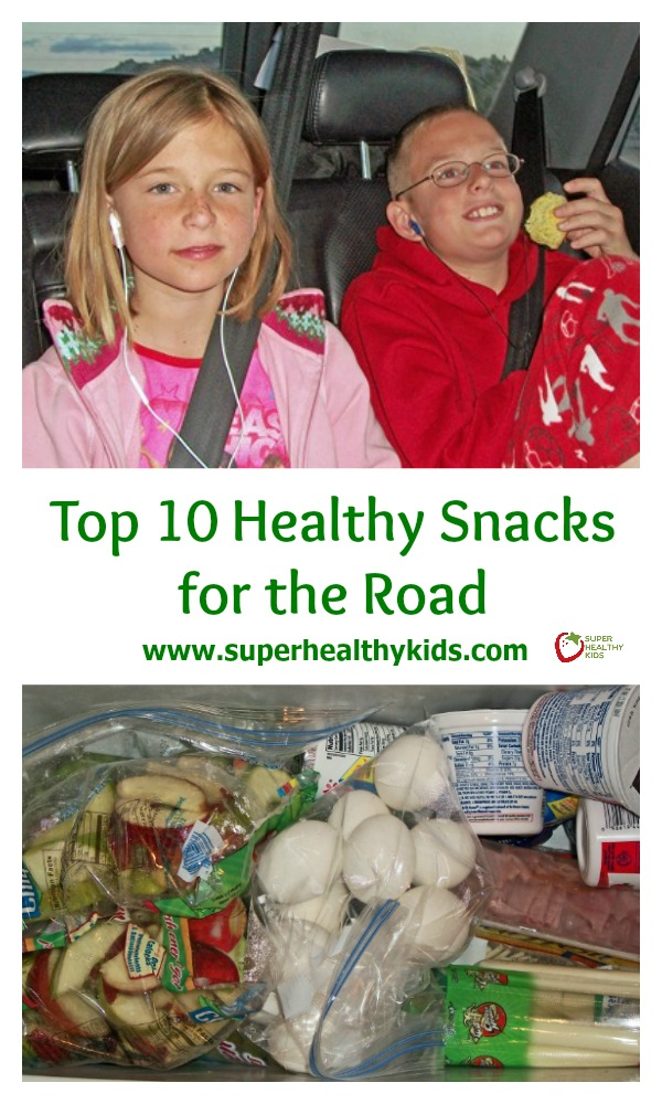 Top Ten Healthy Snacks for the Road. Road tripping? Bring along your healthy snacks!
