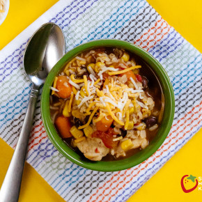 Rice Cooker Taco Soup 011 from super healthy ids