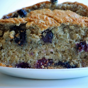 Oatmeal Blueberry Bread Recipe