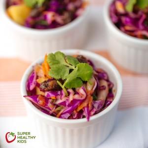 Baja Veggie Coleslaw Recipe