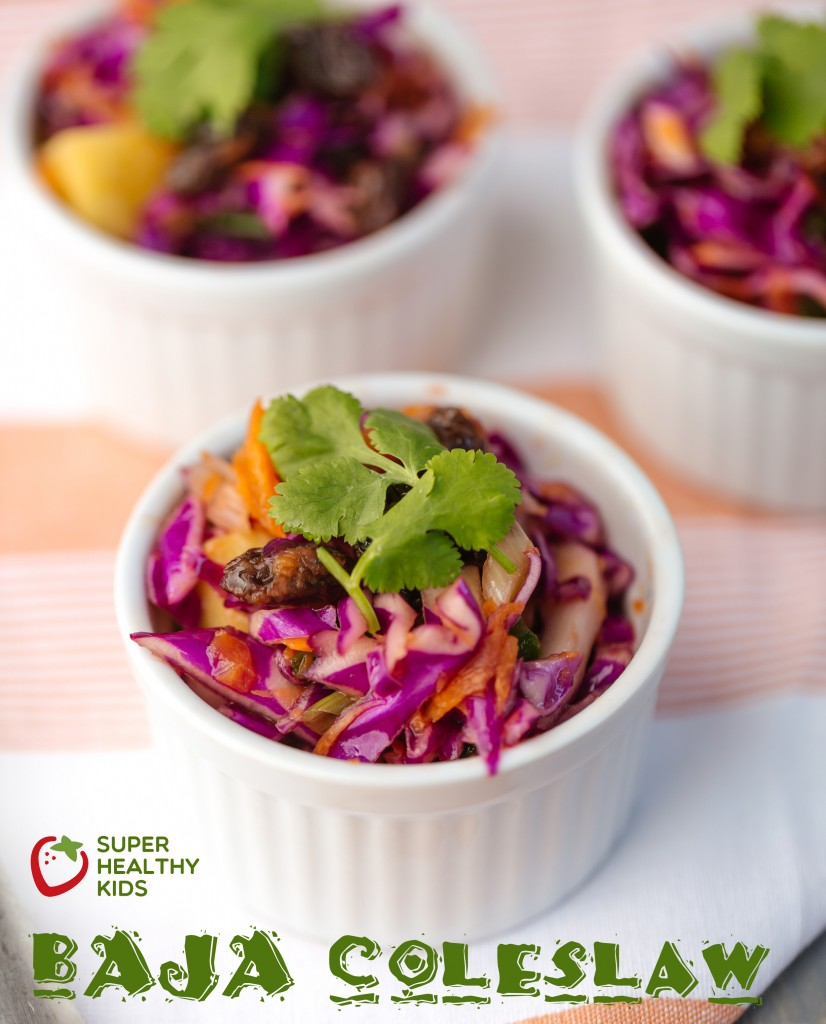 Baja Veggie Coleslaw. This side dish is packed with benefits!