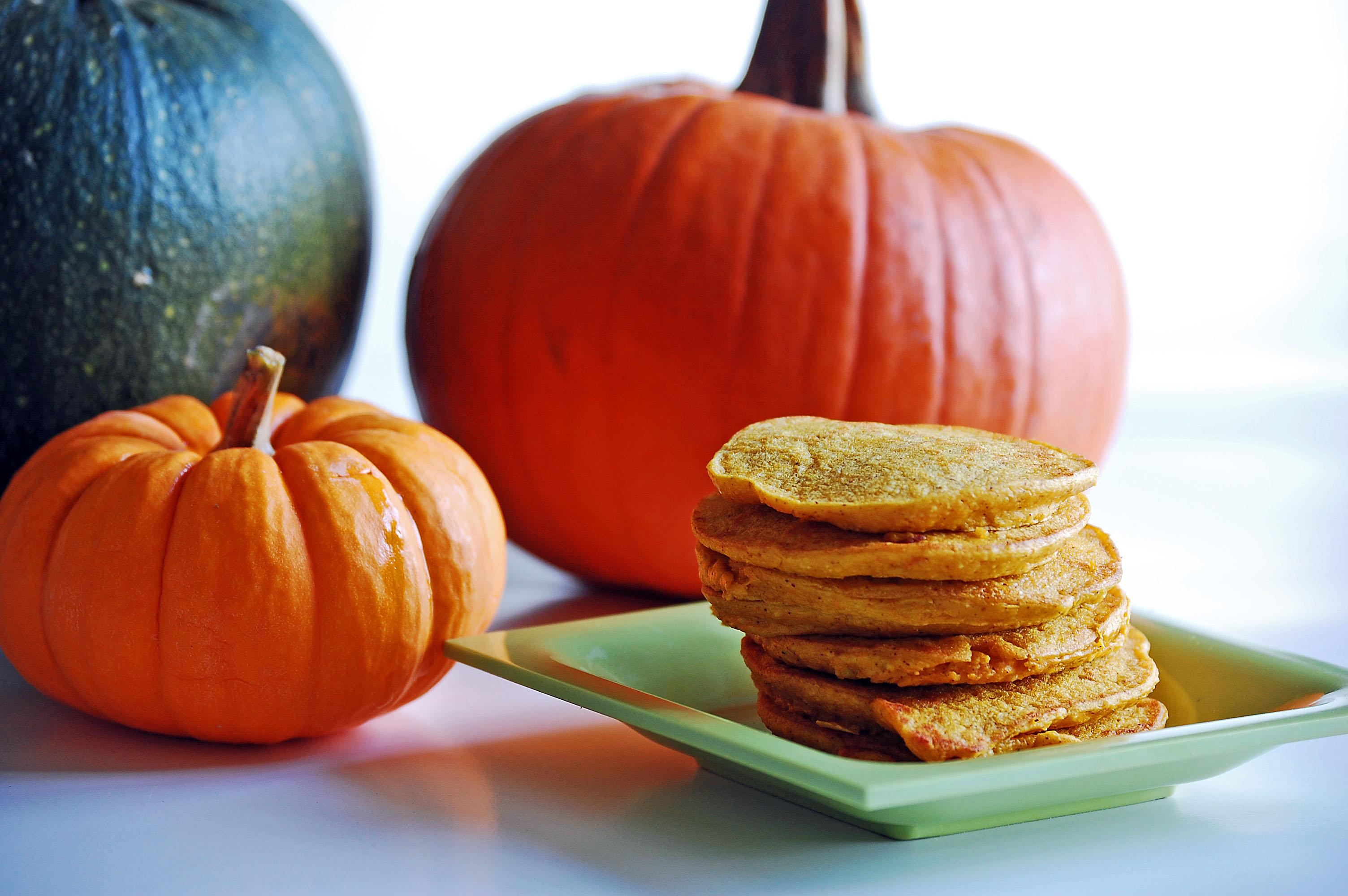 High Protein Pumpkin Pancakes Recipe | Healthy Ideas for Kids