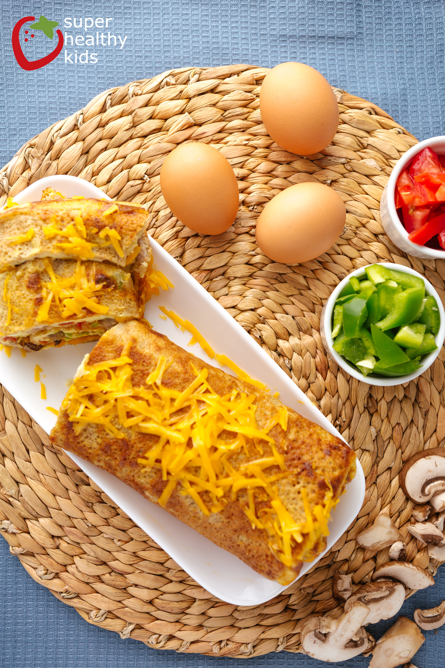 how to cook an omelette in the oven