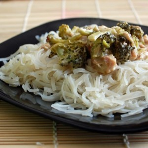 Healthy Crockpot Meal: Broccoli and Chicken