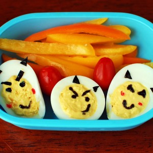 Deviled eggs, for your little devils