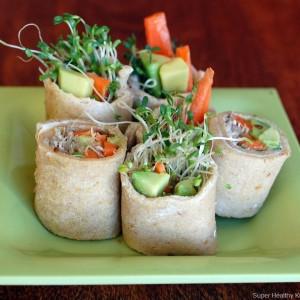 Alfalfa Sushi Sandwiches