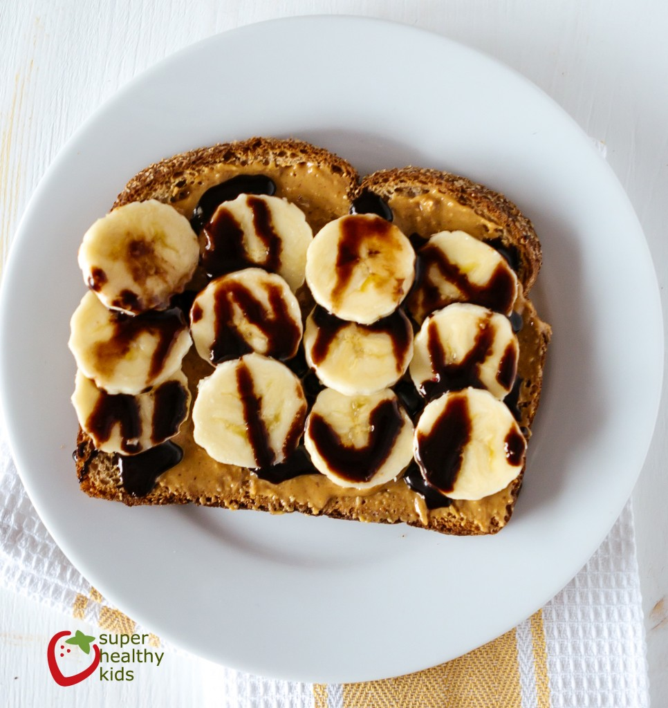 banana chocolate toast