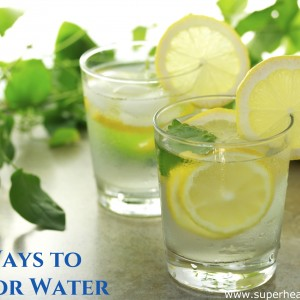5 Ways to Flavor Water