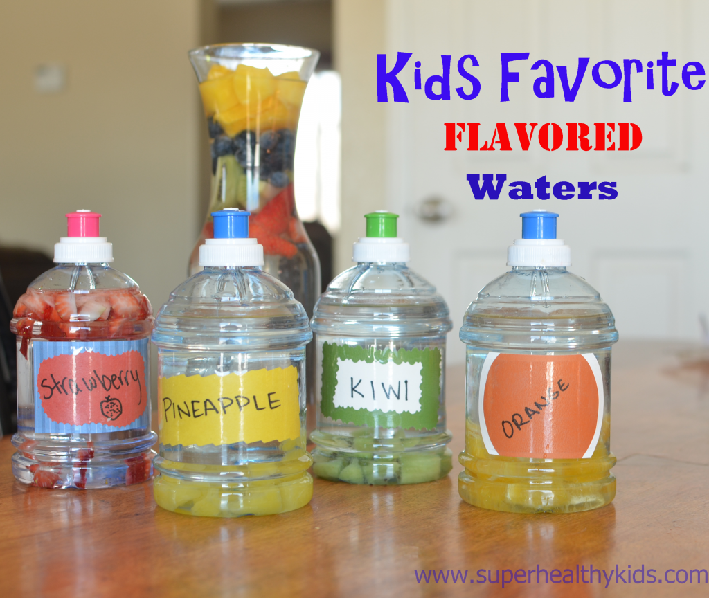 Kids Favorite Flavored Waters
