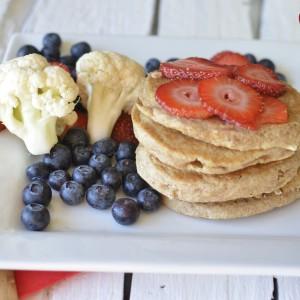 Fluffy Cauliflower Pancake Recipe!