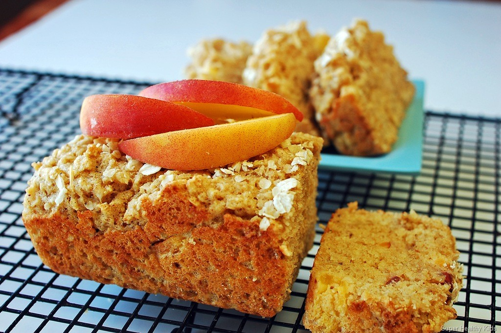 Peach Crisp Bread. This bread smells (and tastes!) amazing!