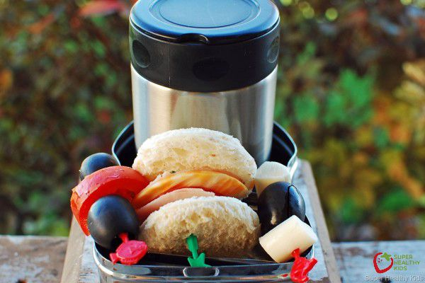 10 Thermos Ideas For a Healthy Lunch. How you can send hot or cold food to school!