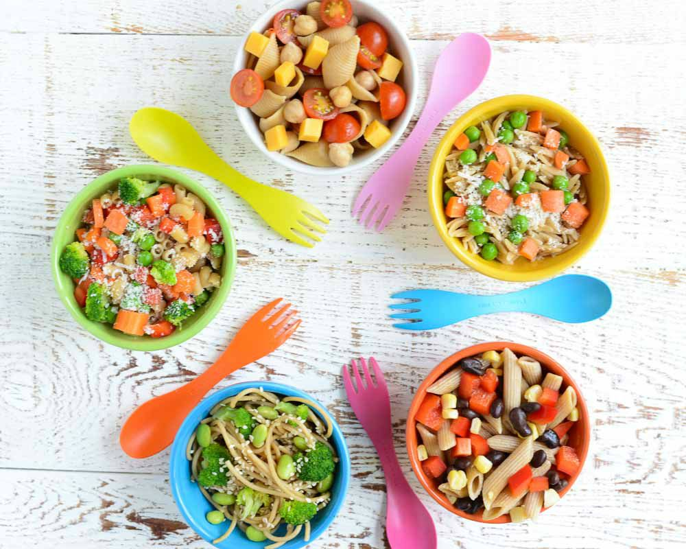 Irresistible Kid Friendly Dinner Salads. These irresistible, kid friendly salads are the perfect side to any dinner!