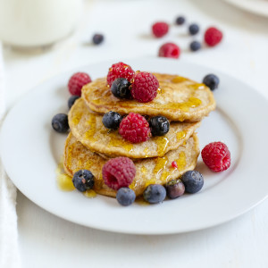 Super Amazing Oatmeal Pancakes