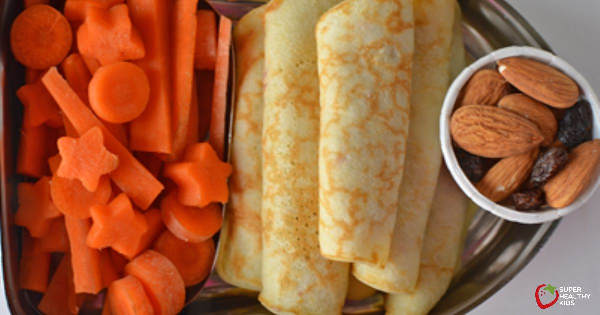 Peanut Butter and Jelly Crepes | Super Healthy Kids