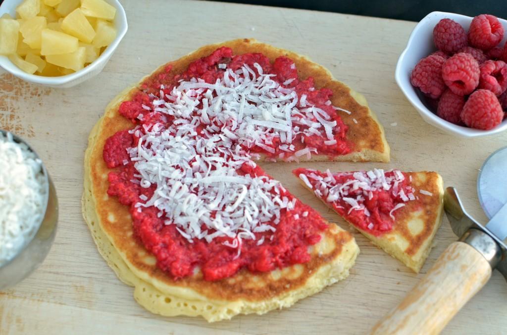 breakfast pancake pizza