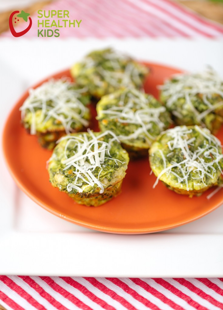 Cheesy Spinach Bites 1
