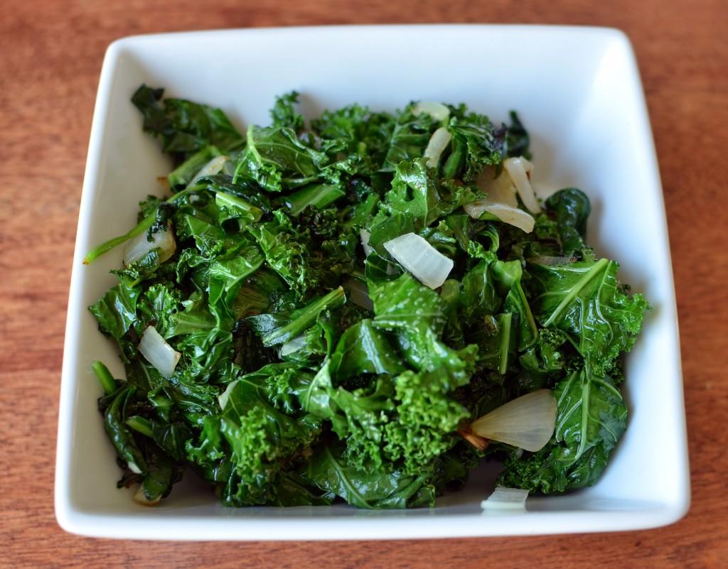sauted kale