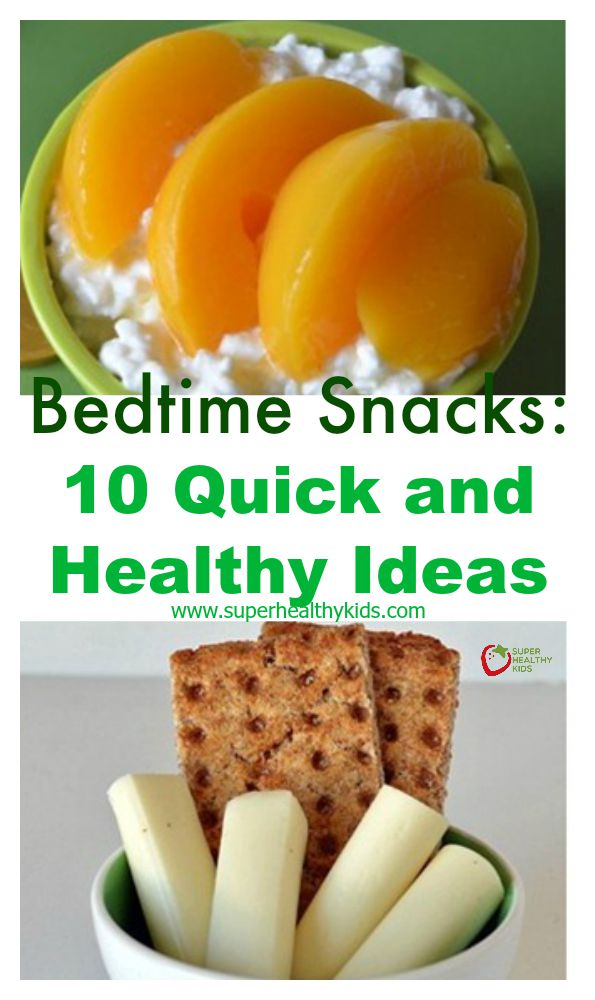 Best Foods To Snack On Before Bed