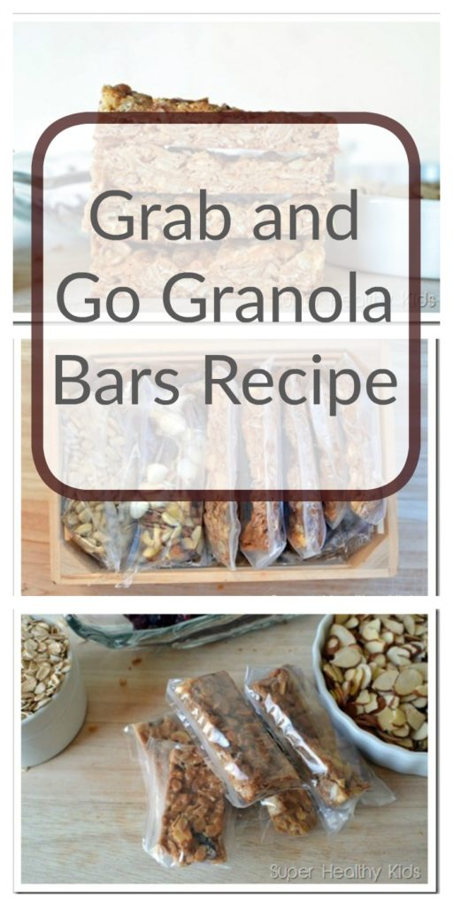 Grab and Go Granola Bars Recipe