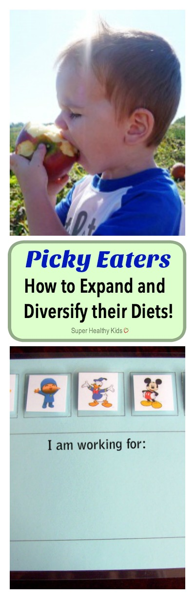 Picky Eaters: How to Expand and Diversify their Diets! More picky eater tips!! http://www.superhealthykids.com/picky-eaters-how-to-expand-and-diversify-their-diets/