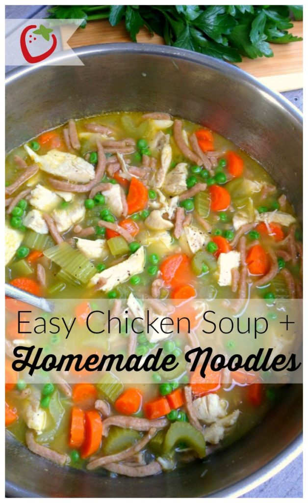 Homemade chicken noodle soup healthy ideas for kids for How long to boil a whole chicken for soup
