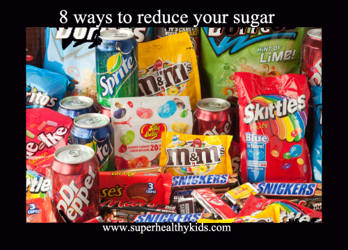 8 ways to reduce your sugar