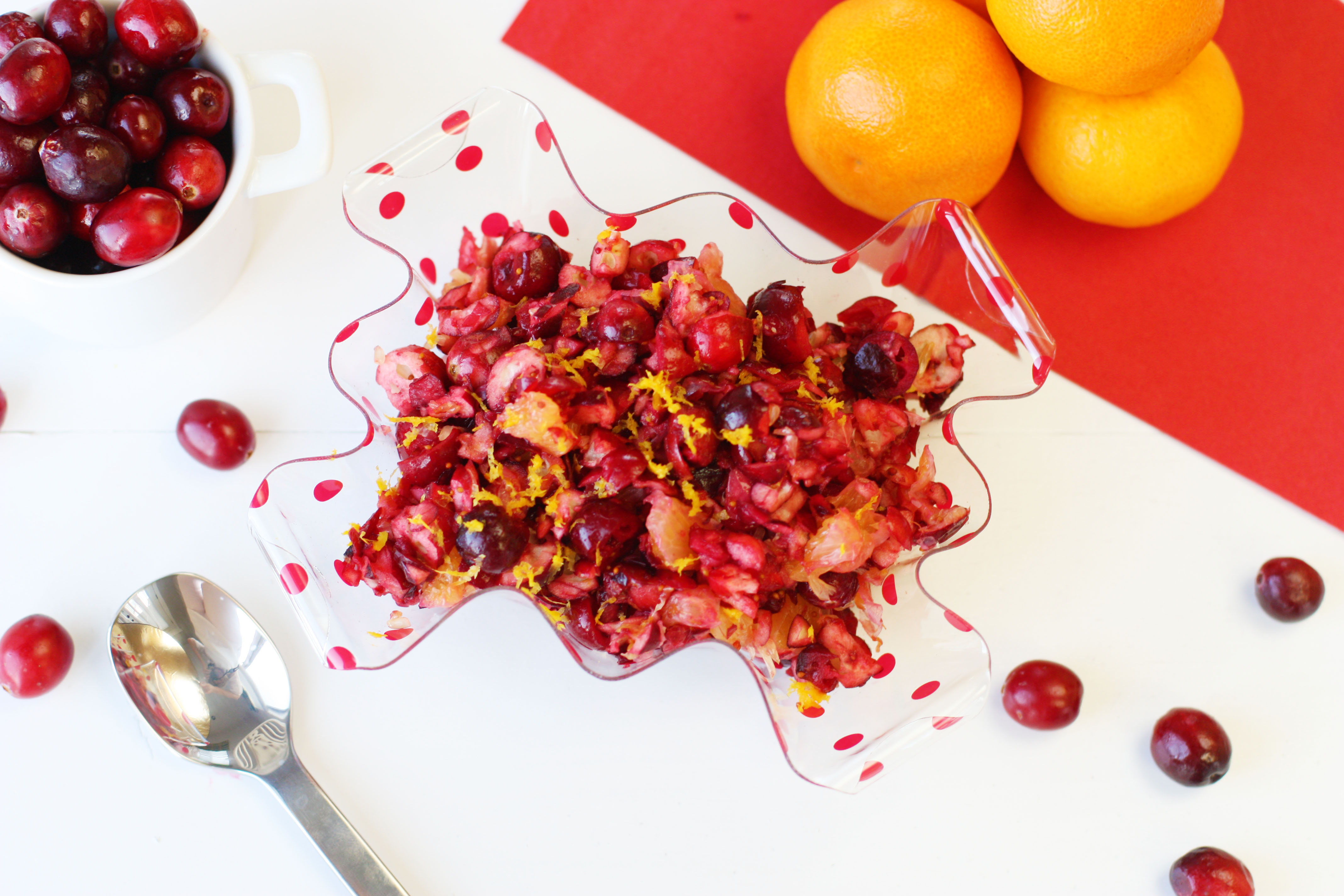 Fresh Cranberry Orange Relish. This may become a new Thanksgiving ...