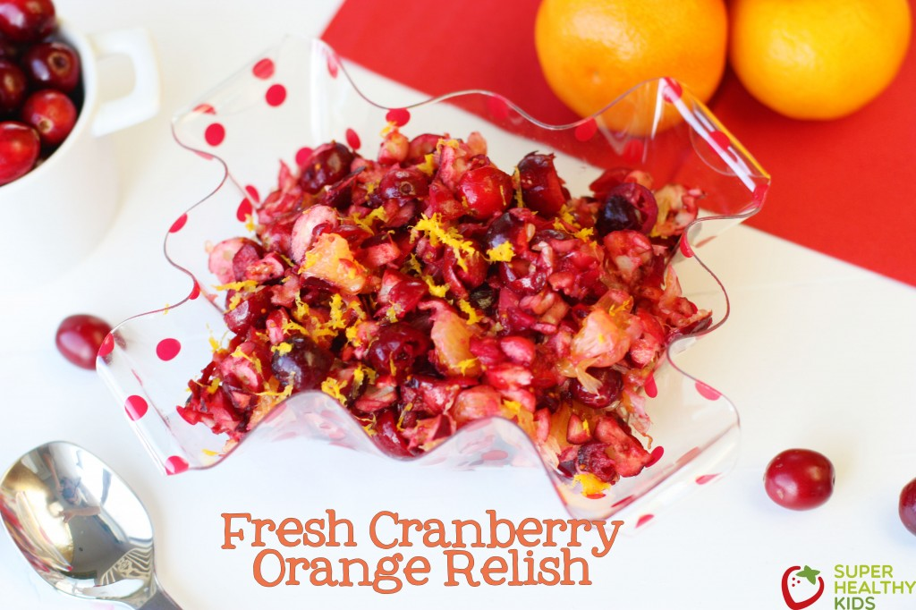 Fresh Cranberry Orange Relish. This may become a new Thanksgiving tradition!