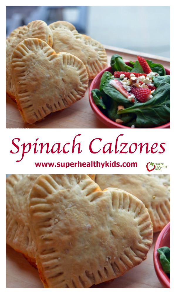 Spinach Calzones and the Produce Promise. If you were to ask your kids what their favorite food is, what would would they say?