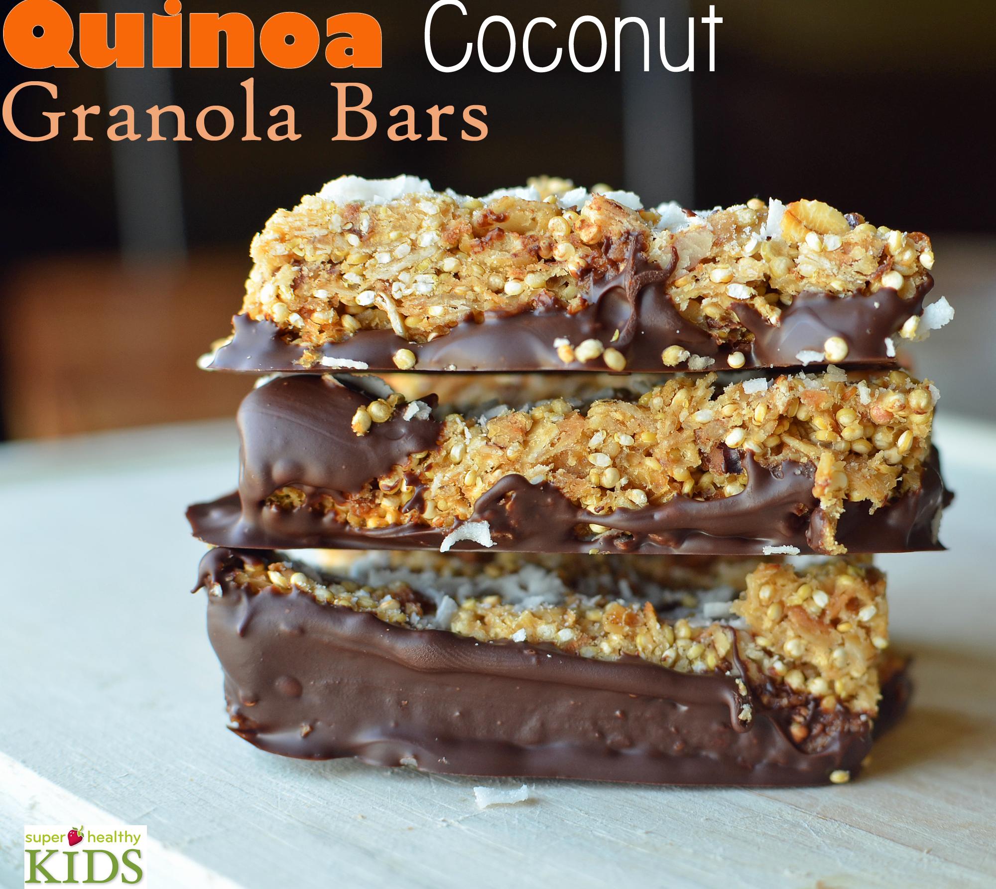 ... Coconut Granola Bar Recipe. Our kids already love granola bars