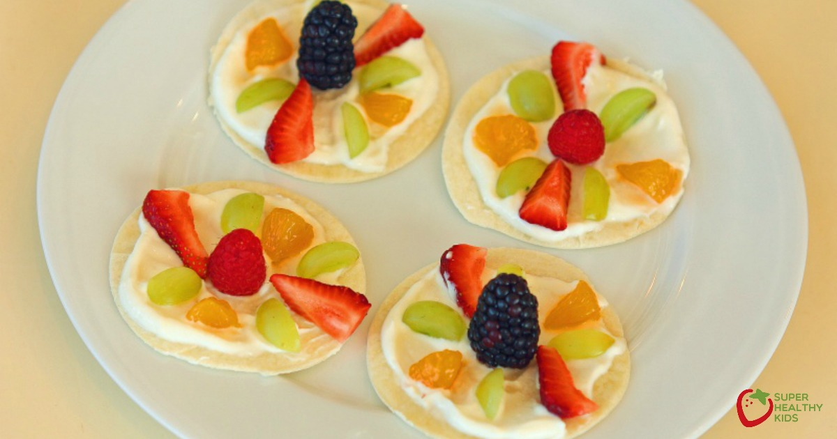 healthy low sugar fruits healthy fruit pizza crust