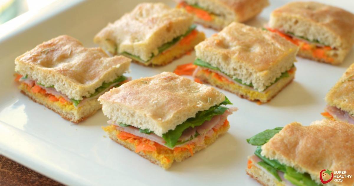 Mini Fourth Of July Focaccia Sandwiches Recipe Healthy