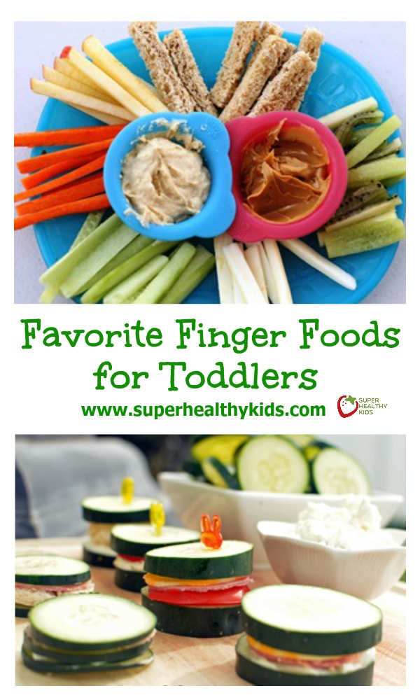 Favorite Finger Foods for Toddlers. If you have a toddler, you'll want this list of healthy finger food!