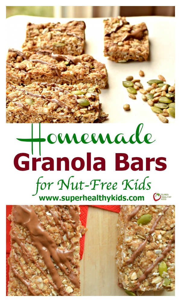 and Chewy Homemade Granola Bars for Nut-Free Kids. Chewy granola bars ...