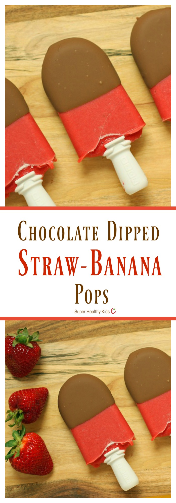 FOOD - Chocolate Dipped Straw-Banana Pops. A healthy treat to hit that sweet spot! http://www.superhealthykids.com/chocolate-dipped-straw-banana-pops/