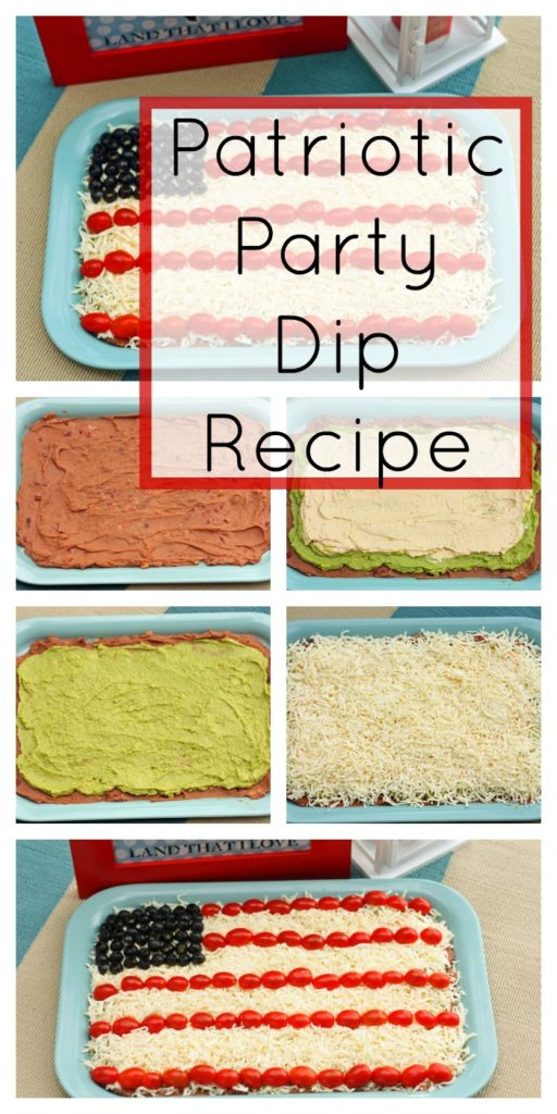 Patriotic Party Dip Recipe