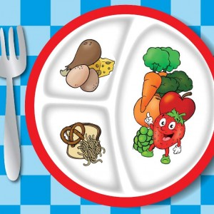 Healthy Eating Placemat8X10 or 10X14