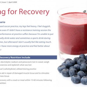 What to eat for recovery: Kids and Sports