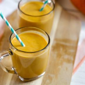 Creamy Pumpkin Smoothie 1
