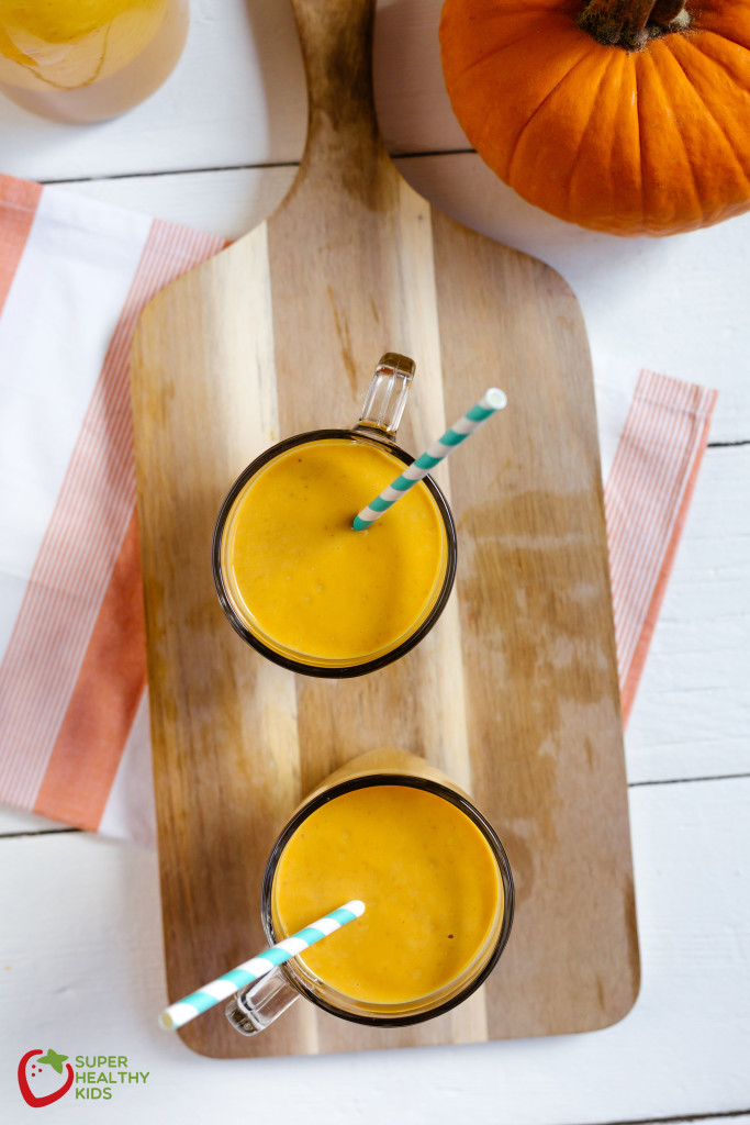 Dairy-Free Creamy Pumpkin Smoothie Recipe. Look no further- here is your next favorite pumpkin flavored drink!