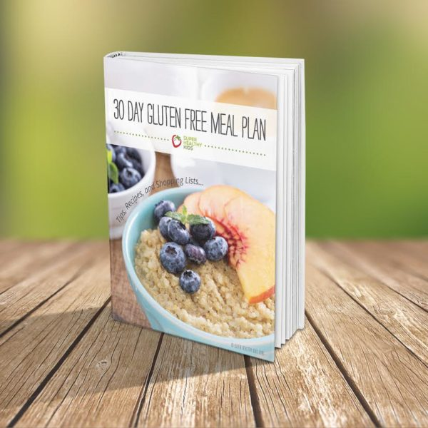 Gluten Free eBook Meal Plan